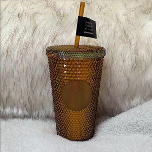 Starbucks Limited Edition Honeycomb Stud Tumbler